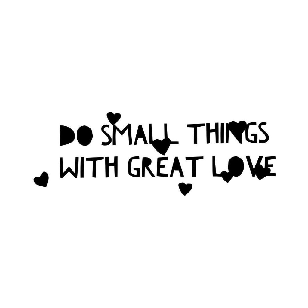 The way we do small things determines the way wehellip
